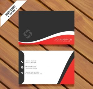 visit-card-template