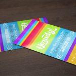 دانلود فایل لایهباز کارت ویزیت رنگارنگ – ۲۹