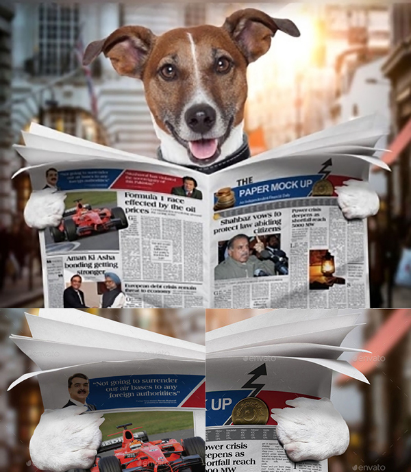 dog-newspaper-mockup