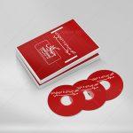 موکاپ دو کاور و قاب DVD با جعبه محافظ بر روی هم (1)
