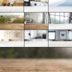مجموعه 11 تصویر با کیفیت برای پس زمینه موکاپ (مات)
