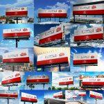 18 موکاپ بیلبورد و تابلوی تبلیغاتی (سری 2)