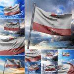 موکاپ پرچم - لایهباز، حرفهای و با کیفیت (11 موکاپ)