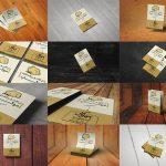 موکاپ تراکت، سربرگ و برگههای کاغذ A4 و A5 (12 موکاپ)