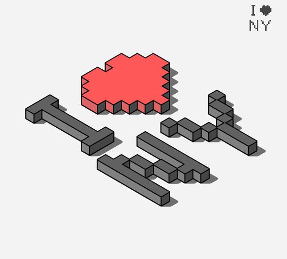 اکشن فتوشاپ ساخت اشکال سهبعدی و ایزومتریک