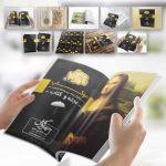 موکاپ مجله و کتاب - طرح جلد و صفحات میانی (9 موکاپ)