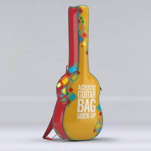 موکاپ کیف گیتار