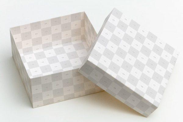 موکاپ جعبه کادو و هدیه