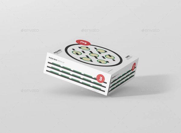 موکاپ جعبه پیتزا