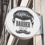 وکتور آرایشگر و قیچی و تیغ آرایشگاه مناسب برای طراحی لوگو و تتو