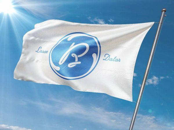موکاپ پرچم در باد