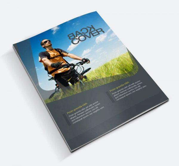 موکاپ مجله و کتاب نازک
