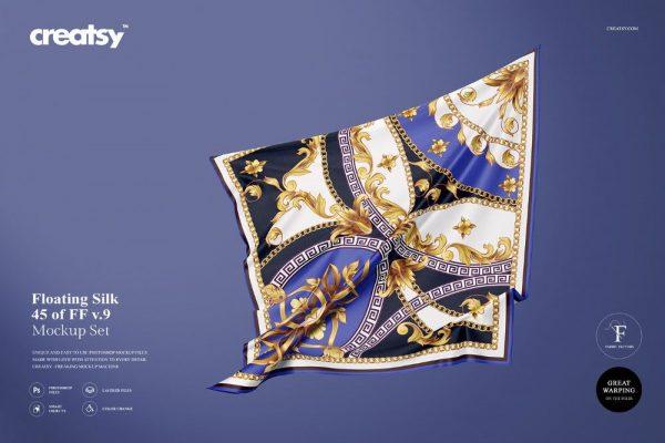 موکاپ بسیار زیبا و طبیعی شال و روسری