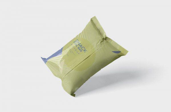 موکاپ بستهبندی چیپس و پفک