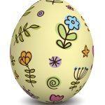 وکتور واقعگرایانه تخممرغهای رنگی با زمینه شفاف