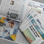 دانلود ماکآپ روزنامه و مطالب صفحات آن