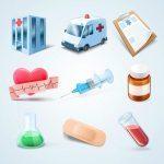 وکتور وسایل و ابزارهای پزشکی EPS