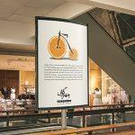 پیشنمایش (موکاپ) بنر تبلیغاتی در پاساژ و مجتمع تجاری