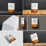 موکاپ جعبه و بسته محصول – حرفهای (۷ موکاپ)