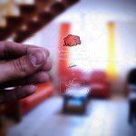 موکاپ کارت ویزیت شیشهای